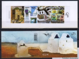 2.- GREECE 2018 BOOKLET - EUROMED - HOUSES OF THE MEDITERRANEAN - Emisiones Comunes