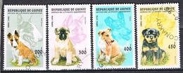 Chiens De Race N°1081 1083 1084 1085 - Guinea (1958-...)