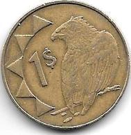 *nanibia 1 Dollar  2002 Km 4 - Namibie