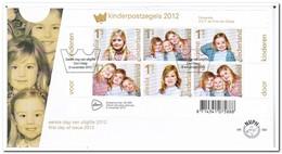 Nederland 2012, FDC 662, Children Stamps - FDC