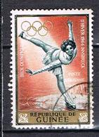 Poste Aérienne Jeux Olympiques D'hiver D'Innsbruck N°41 - Guinea (1958-...)