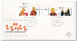 Nederland 1972, FDC 122, Children Stamps - FDC
