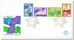 Nederland 1973, FDC 124, Summer Stamps, Ships - FDC