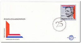 Nederland 1973, FDC 127, Government Jubilee - FDC