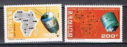 P.A. Journée Mondiale Des Télécommunications N°100 101 - Guinea (1958-...)