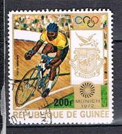 P.A.Jeux Olympiques De Munich Cyclisme N°106 - Guinea (1958-...)