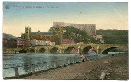 CPA - Carte Postale - Belgique - Huy - La Citadelle - La Collégiale Et Le Vieux Pont - 1922 ( SV5680) - Huy