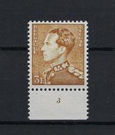 N°847a (pltn°3) MNH ** POSTFRIS ZONDER SCHARNIER COB € +++15,00 SUPERBE - 1936-51 Poortman
