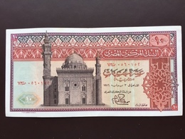 EGYPT P46 10 POUNDS 1976 UNC - Egypte