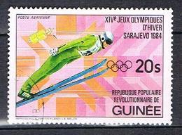 P.A. Vainqueur Au J.O. De Sarajevo N°168 - Guinea (1958-...)