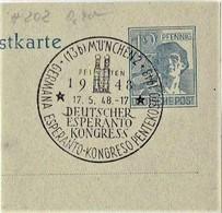 Germany - Sonderstempel / Special Cancellation   (S382) - Esperanto