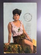 C.P.A. : SAMOA : Samoan Beauty, Stamp Fiji In 1909 - Samoa