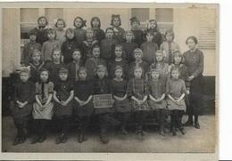 F9/  HEMIXEM    KLASFOTO      5e JAAR 1925    OP KARTON  13/18 CM - Belgium