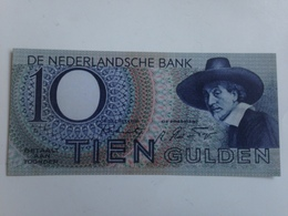 Billete Holanda. 10 Gulden. 1943. Amsterdam. II Guerra Mundial. Réplica. Sin Circular - 10 Gulden