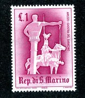 W-6966 San Marino 1963 Scott #554** Offers Accepte11 - San Marino