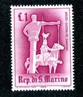 W-6969 San Marino 1957 Scott #396** Offers Accepte11 - San Marino