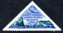 W-6971 San Marino 1952 Scott #C83** Offers Accepte11 - Airmail