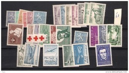 1963 MNH Finland, Finnland, Year Complete According To Michel, Postfris - Finland
