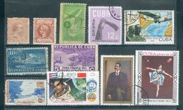CUBA ; 1888-1978 ; Divers ; Y&T N° ; Lot: 14-15 ; Oblitéré/neuf - Collections, Lots & Séries