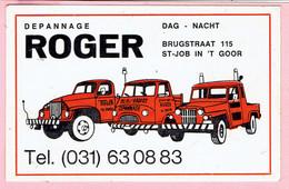 Sticker - DEPANNAGE ROGER - Dag En Nacht - Brugstraat St-Job In 'tGoor - Stickers