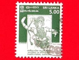 SRI LANKA - Usato - 1999 - Danze - Kandyan Dancer - 5.00 - Sri Lanka (Ceylon) (1948-...)