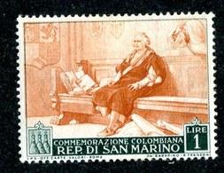 W-6974 San Marino 1952 Scott #308** Offers Welcome. - San Marino