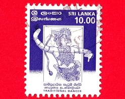 SRI LANKA - Usato - 1999 - Danze - Kandyan Dancer - 10.00 - Sri Lanka (Ceylon) (1948-...)