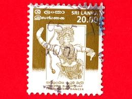 SRI LANKA - Usato - 1999 - Danze - Kandyan Dancer - 20.00 - Sri Lanka (Ceylon) (1948-...)