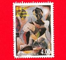 SRI LANKA - Usato - 1999 - Dipinto - Justin Daraniyagala - 4.00 - Sri Lanka (Ceylon) (1948-...)