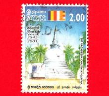 SRI LANKA - Usato - 2001 - Vesak Festival - Sri Nagadeepa Chaithya, Jaffna - 2.00 - Sri Lanka (Ceylon) (1948-...)