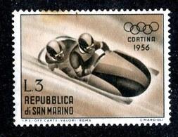 W-6977 San Marino 1955 Scott #366**(stain) Offers Welcome. - San Marino