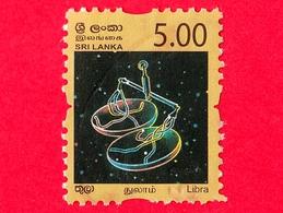 SRI LANKA - Usato - 2007 - Zodiaco - Constellations - Libra - 5.00 - Sri Lanka (Ceylon) (1948-...)