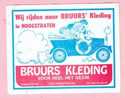 Sticker - BRUURS KLEDING - Vrijheid Hoogstraten - Stickers