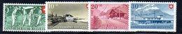 518/1500 - SVIZZERA 1947, Unificato N. 437/440 Con Gomma Integra ***  MNH Pro Patria - Nuovi