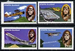 Staffa 1977 50th Anniversary Of Lindbergh's Flight AVIATION FLAT TOPS PERSONALITIES MASONICS LINDBERGH MASONRY U/M - Ortsausgaben