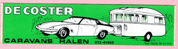 Sticker - DE COSTER - CARAVANS - HALEN - Stickers