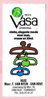 Sticker - Vasa - Huis Mevr. F.VAN NYEN - VAN HOVE - Stwg Op Mol Oud Turnhout - Stickers