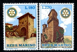 W-6989  San Marino 1970 Scott #731/32** Offers Welcome. - San Marino