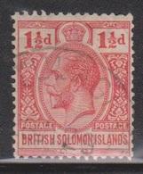 BRITISH SOLOMON ISLANDS Scott # 23 Used - KGV - British Solomon Islands (...-1978)