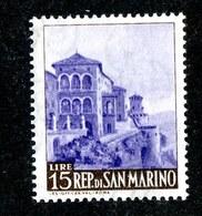 W-7005  San Marino 1949 Scott #287** Offers Welcome. - San Marino