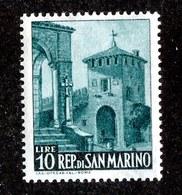 W-7007  San Marino 1949 Scott #285** Offers Welcome. - San Marino