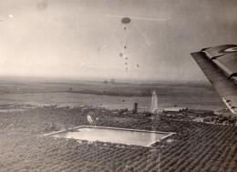 Maroc Aéroport De Marrakech-Ménara Et Jardins Vue Aerienne Ancienne Photo 1940's - Africa