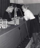 Agence De Mannequins Gillian Bobroff & Kasia Lawrence Ancienne Photo 1982 - Famous People
