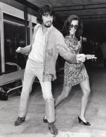 Chanteur PJ Proby Et Choreographe Shirley Langford Ancienne Photo 1969 - Famous People