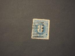 LIBERIA - 1882 CIFRA 8 C. (discreta Qualità, Come D'uso) - TIMBRATO/USED - Liberia