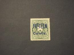 LIBERIA - 1903 STEMMA FIFTEEN Su 24 - NUOVO(+) - Liberia