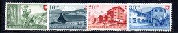 522/1500 - SVIZZERA 1948, Unificato N. 457/460 Con Gomma Integra ***  MNH Pro Patria - Nuovi