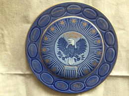 U.S. Bicentennial Plate Produced By B & G (Bing & Grondahl) Copenhagen 9 Inches - Other Collections