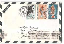 2875 02 DJIBOUTI - COTE FRANCAISE DES SOMALIS - Covers & Documents