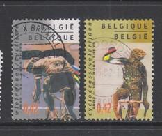 COB 3052 / 3053 Oblitération Centrale - Used Stamps